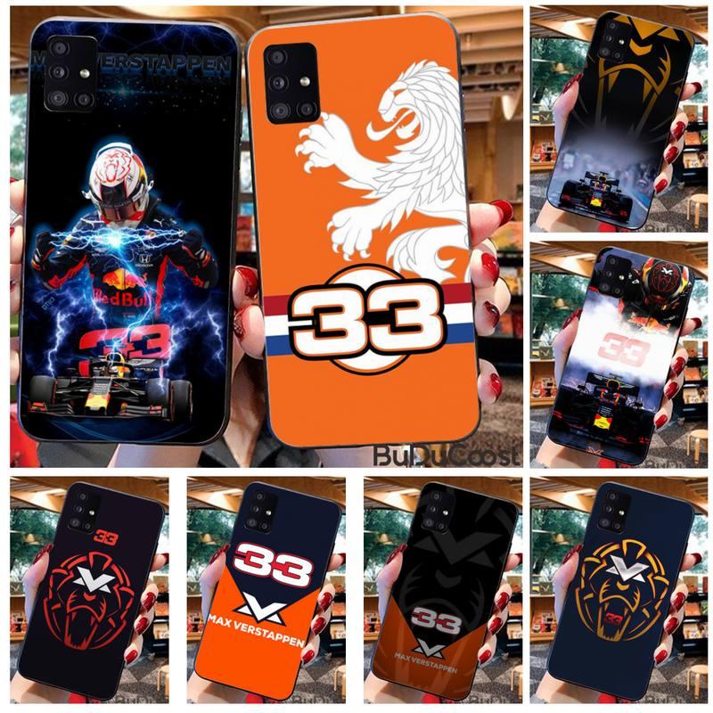 Custodia per telefono Lion numero F1 Racer 33 per Samsung Galaxy A21S A01 A11 A31 A81 A10 A20E A30 A40 A50 A70 A80 A71 A51