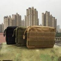Tático saco de armazenamento médico camuflagem ao ar livre multifunções kit primeiros socorros/kit ferramenta acessório saco de bolso esportes