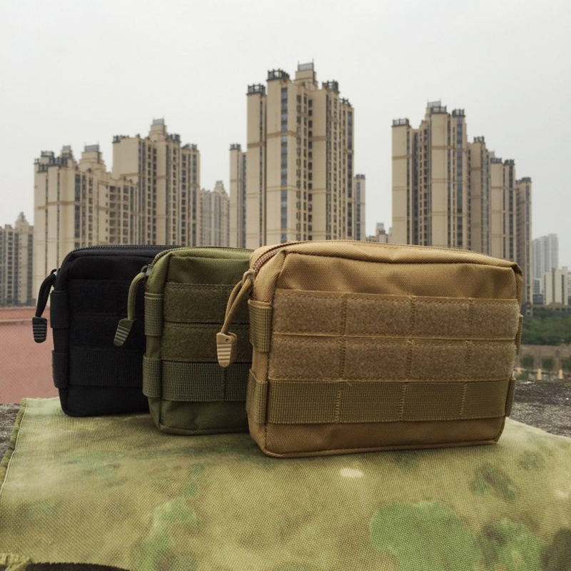 Tactical Medical Storage Bag Outdoor Camouflage Multifunction First Aid Kit/tool Kit Accessory Sports Pocket Bag