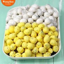 10 шт 2,5 см счастливое украшение пасхальные яйца искусственные цветы для дома вечерние DIY ремесло подарок пользу пасхальные украшения вечерние принадлежности