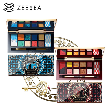 "ZEESEA British Museum тени 12 Colors Alice Eye Shadow Palette ""Alice in Wonderland"" Series New 1"