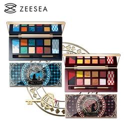 ZEESEA, paleta de sombras de ojos de Alicia en 12 colores para Museo Británico, serie Alicia en el país de las Maravillas, nuevo