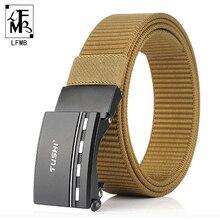 [LFMB]Nylon Belt men's military tactical belt nylon fashion