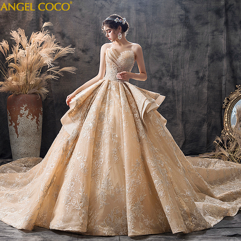 Maternity Dresses Wedding Gown Pregnancy Dress Bride Gown Dresses For Pregnant Women Clothes 2019 High-end Custom Robe De Mariee
