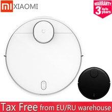 Xiaomi mijia stytj02ym mi robô aspirador de pó-mop p 2 varrendo esfregar 2in 1 tanque de água lds wifi mi casa app ru em estoque