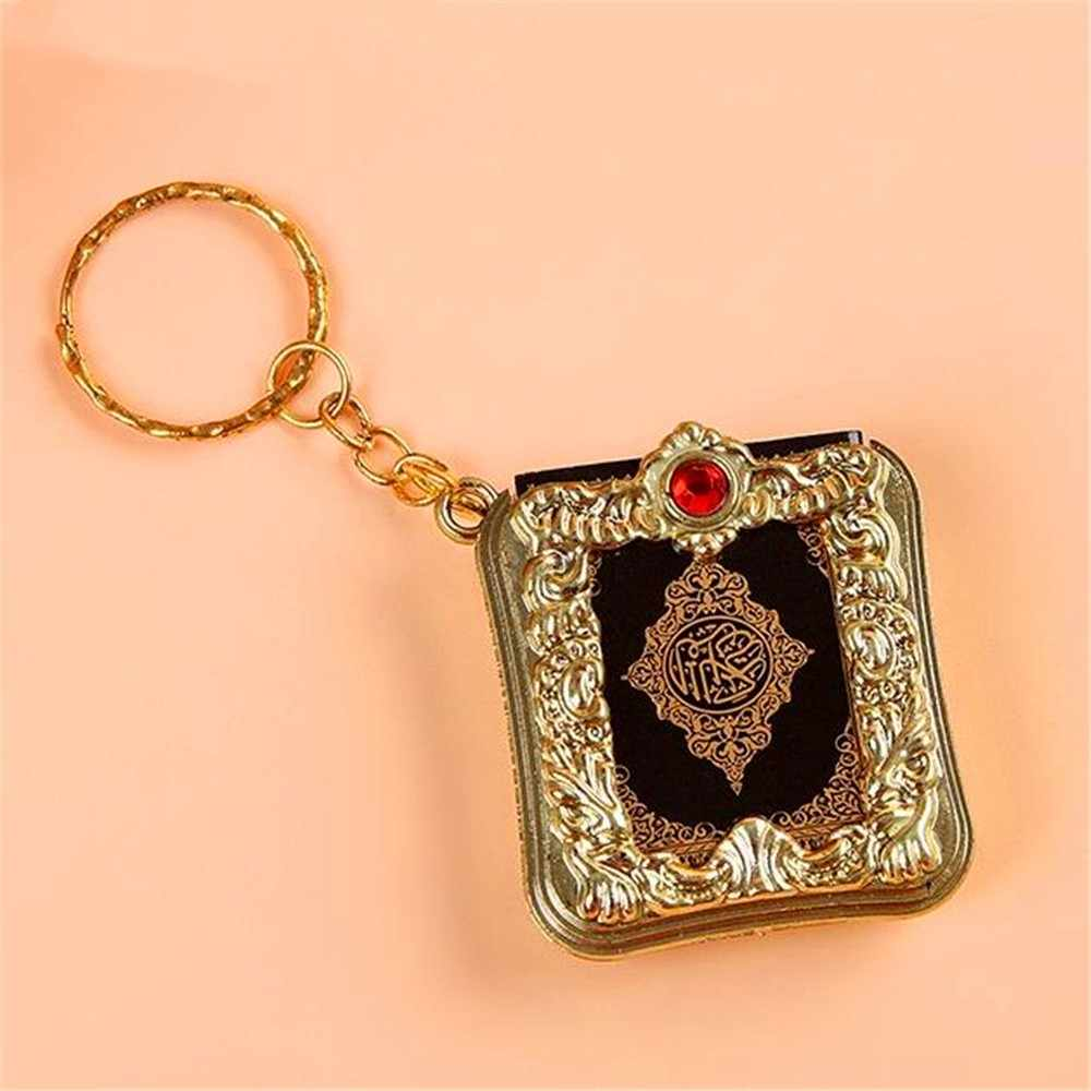 Fashion Mini Ark Koran Boek Koran Hanger Moslim Sleutelhanger Bag Purse Auto Hanger Decor Sleutelhangers Hot Sales