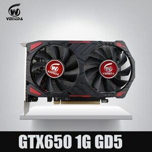 Image 1 - Originele GTX650 Gpu Veineda Video Graphics Card GTX650 1Gb GDDR5 128BIT Vga Kaart Voor Nvidia Pc Gaming Sterker dan GT630 ,GT730