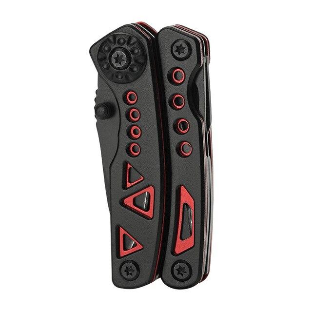 Outdoor EDC strumento di piegatura pinze con fibbia alpinismo portatile mini pinze multifunzionali