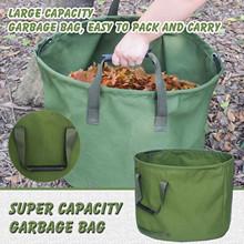 40 # wielofunkcyjne trwałe worki na śmieci ogrodowe torby do sadzenia owoców warzywnych duża pojemność liść ogrodowy torebka akcesoria ogrodowe tanie tanio CN (pochodzenie) ROUND canvas