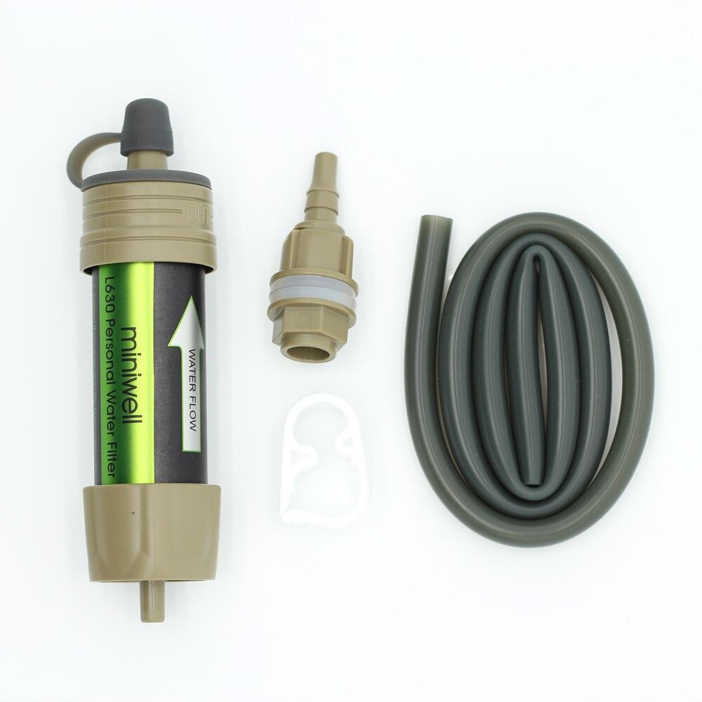 de agua purificador kit para acampamento caca viajar 05