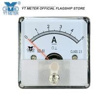 Sd50-a direct current meter direct current meter direct current through dc1a 2A 2A 3A 5A 10A 15A 20A pointer ammeter 45mm pointe