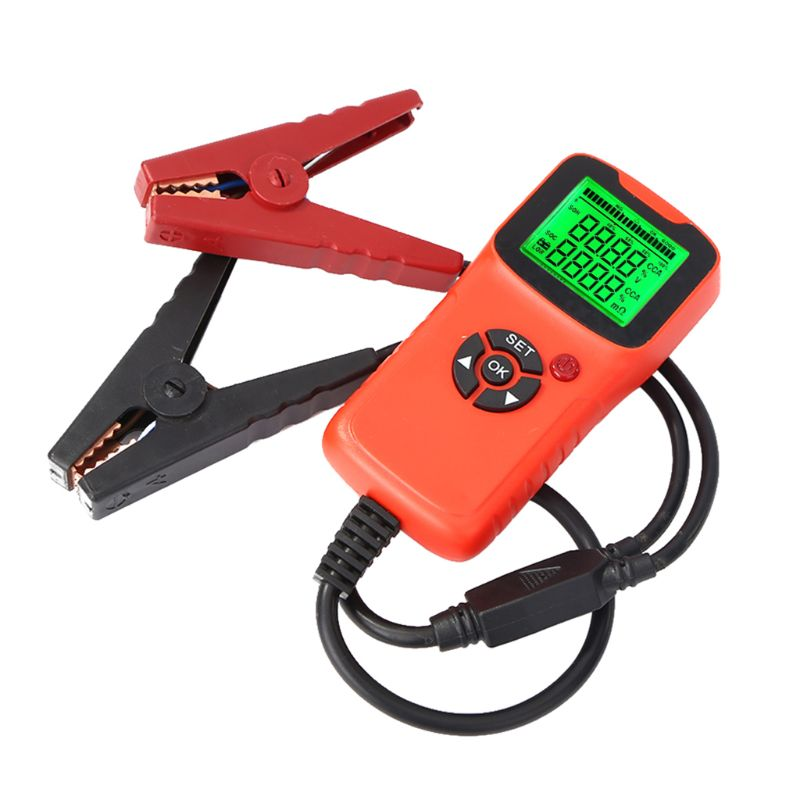 Hearty New Digital 12v Car Battery Tester Vehicle Car Lcd Battery Test Analyzer Auto System Analyzer Voltage Test Diagnostic Tools