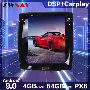Car Multimedia Player Stereo GPS DVD Radio NAVI Navigation Android 9 PX6 Screen System for Maserati Quattroporte M156 2013~2020