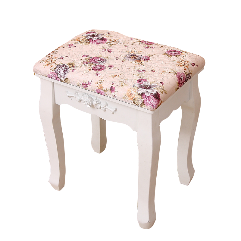 Living Room Change Shoes Stool European Fashion Dressing Stool Makeup Stool Chair Bedroom Wooden Bench