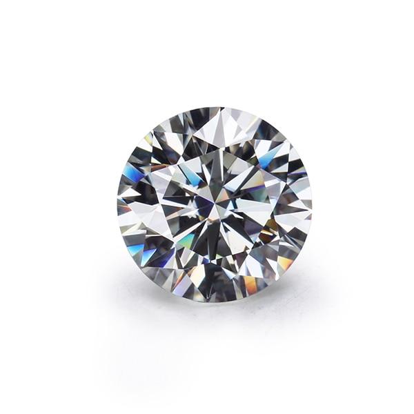 STARSGEM Super white IJ color 15mm test positive loose moissanite gemstone 10ct best price for jewelry making