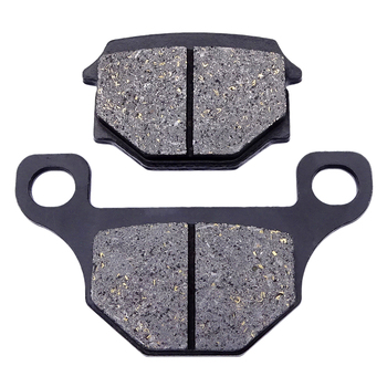1 Pair Motorcycle Quality Front Brake Pads Part For Suzuki GN125 1982-1990 GN125H 2010-2018 Brake Disks motorcycle modification retro large fuel tanks pure color light curing paint without side hole for suzuki gn125