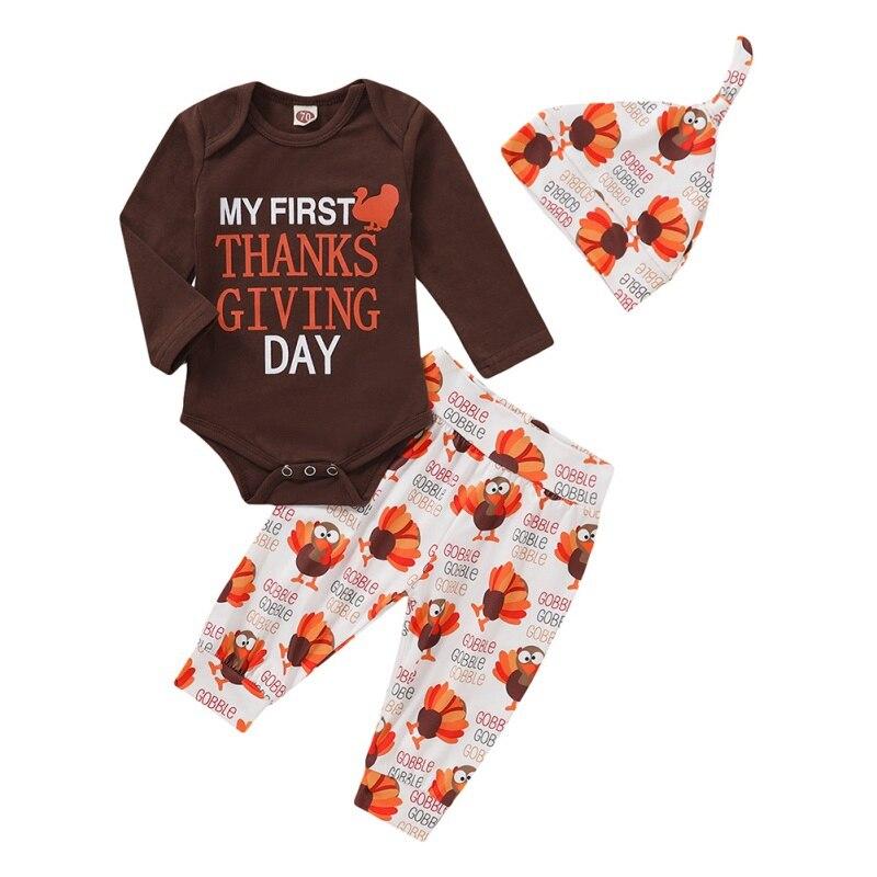 Летняя одежда для новорожденных девочек, комбинезон с длинными рукавами + штаны + шапочка, комплект одежды для малышей, 2020