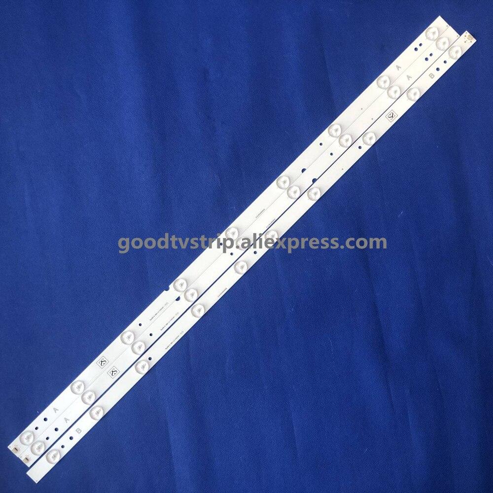 3pcs Led Strip Backlight Lamp For ERISSON 40LES73 40LES69 Philco Ph40e36dsgw Sp-led40 Jl.D4091235-01AS-C E465853