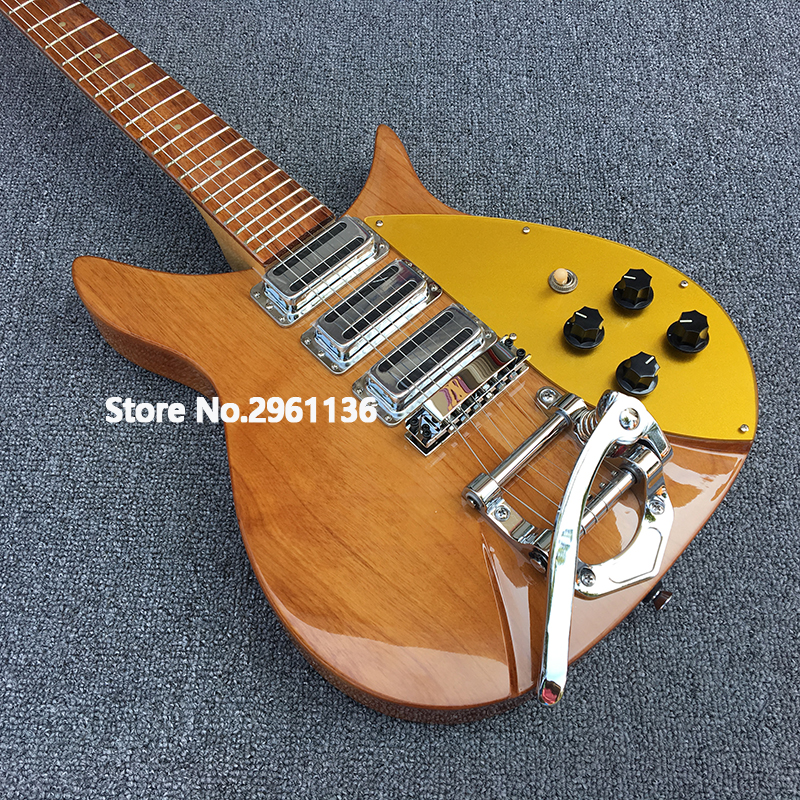 High quality electric guitar,Alder body Ricken 325 electric guitar,Backer 34 inches, can be customized , free shipping