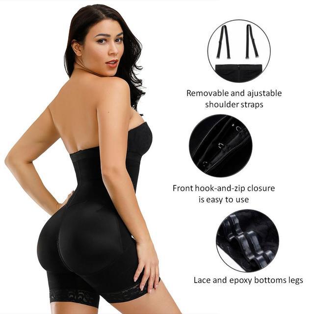 Corset Secret Women Body shaper Tummy Control Underwear Adjustable Straps Shapewear Crotch Zipper design Bodysuit Women Corset 3