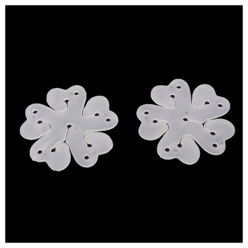 New Pack of 50 Portable Flower Shape Balloon Clips Holder for Wedding Event Decorations Birthday Party Supplies