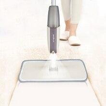 ممسحة أرضية رذاذ مع منصات ستوكات قابلة لإعادة الاستخدام 360 درجة مقبض ممسحة للمنزل المطبخ صفح الخشب بلاط السيراميك تنظيف الأرضيات