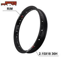 Motorcycle 2.15 X 18 2.15*18 Inch 36 Spokes Holes Aluminum Alloy Wheel Rims For KTM YAMAHA HONDA KAWASAKI SUZUKI Dirt Bike
