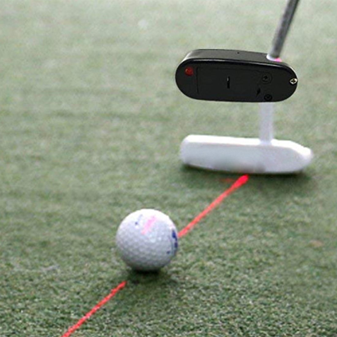 Golf Putter Laser Pointer Putting Practice Aim Line Corrector Improve Aid Training Tool For Markers Without Battery