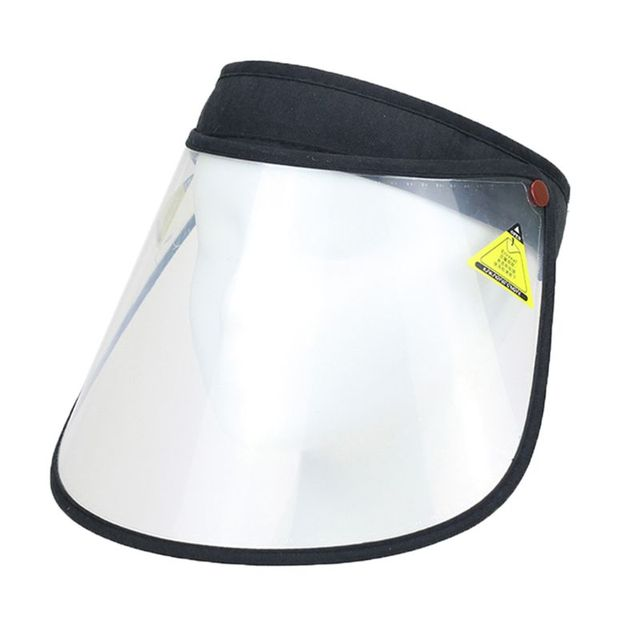 2020 New Safety Foldable Face Shield Cover Transparent Elastic Anti-saliva Protection Full Face Mask Visor 1