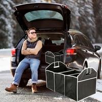 Car Multi Pocket Folding Collapsible Extra Large Folding Storage Boxs Bag Trunk Stowing Tidying Trunk Organizer Car Accessories|Stowing Tidying| |  -