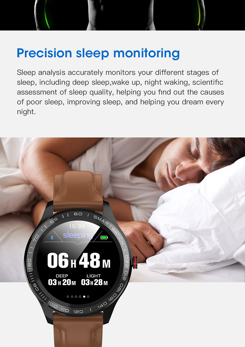 H536b4f26885848a39568a5900451ec88R 696 L9 Full touch Smart Watch Men ECG+PPG Heart Rate Blood Pressure oxygen Monitor IP68 Waterproof Bluetooth Smart Bracelet