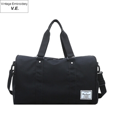 Мода мужская Оксфорд путешествия вещевой сумка для переноски на багажа Tote женщин большой емкости Дорожная тренажерный зал Спорт вещевой мешок на ночь