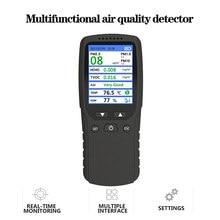 Air Qualität Monitor, innen Luft Verschmutzung Meter Micro Staub Handheld Tester PM2.5/PM 1,0/PM10 TVOC Erkennung Formaldehyd Tester