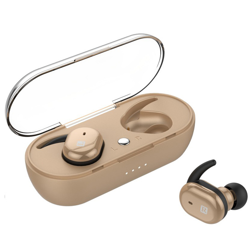New Style TWS Bluetooth Earphones Touch on Ear Call with Charging Warehouse Sports Fitness Stereo In-ear Headphones