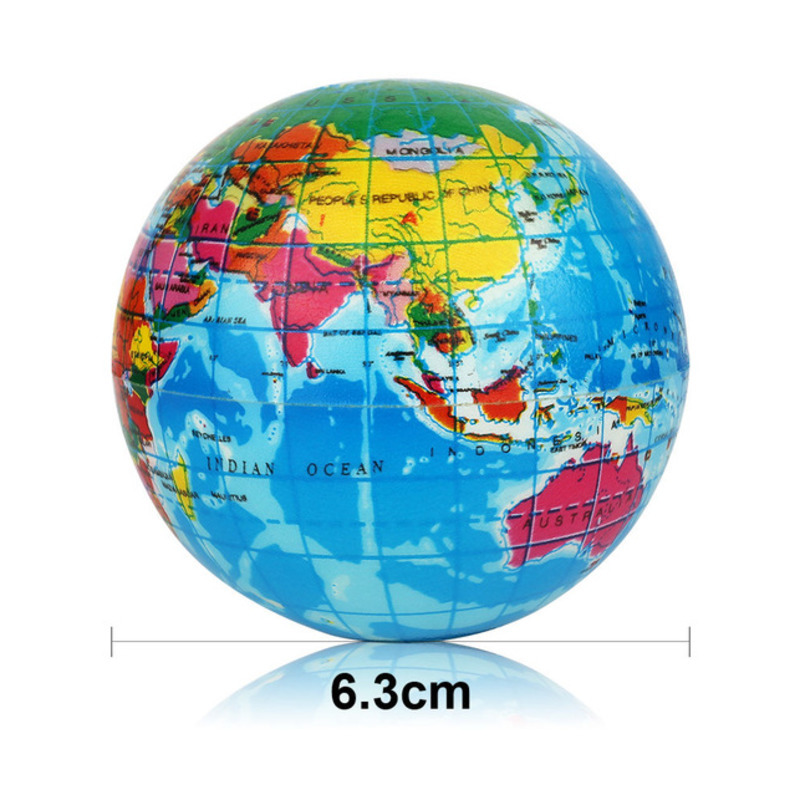 12Pcs/Set Soft Squishy Toy Earth World Map Toys For Children Slow Rising Stress Relief Antistress Novelty Gag Toy Kid Funny Gift 6