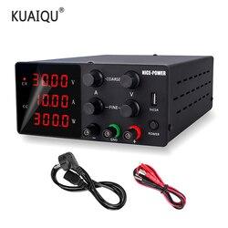 Лабораторный источник питания 30 в 10 А, регулятор тока, переключатель питания, регулируемый регулятор напряжения, настольный источник, цифро...