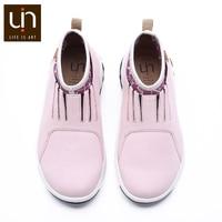 UIN Guda Series Microfiber Suede Boots for Kids Warm Autum/Spring Boots Children Super Lightweight Slip on Shoes Girls/Boys
