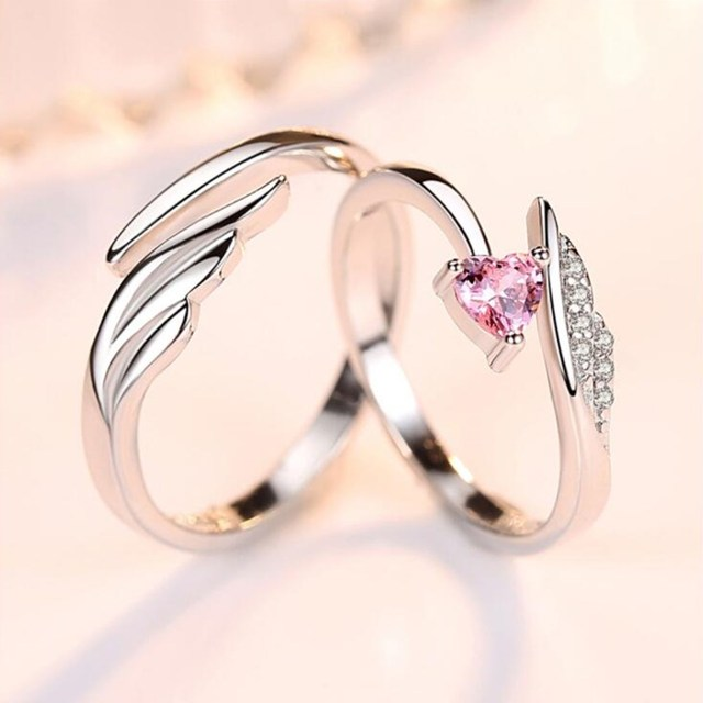 NEHZY 925 sterling silver new jewelry fashion woman opening ring anniversary wedding anniversary wedding engagement couple ring 3