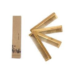 1 PIÈCES Naturel Écologique En Bois Peigne Brosse à Cheveux En Bambou Cheveux Soins Beauté SPA Masseur En Gros Soins Des Cheveux Peigne