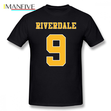 Riverdale T Shirt Jersey 9, Archie Jason Blossom T-Shirt Printed Fun Tee 6xl Casual 100 Cotton Man Tshirt