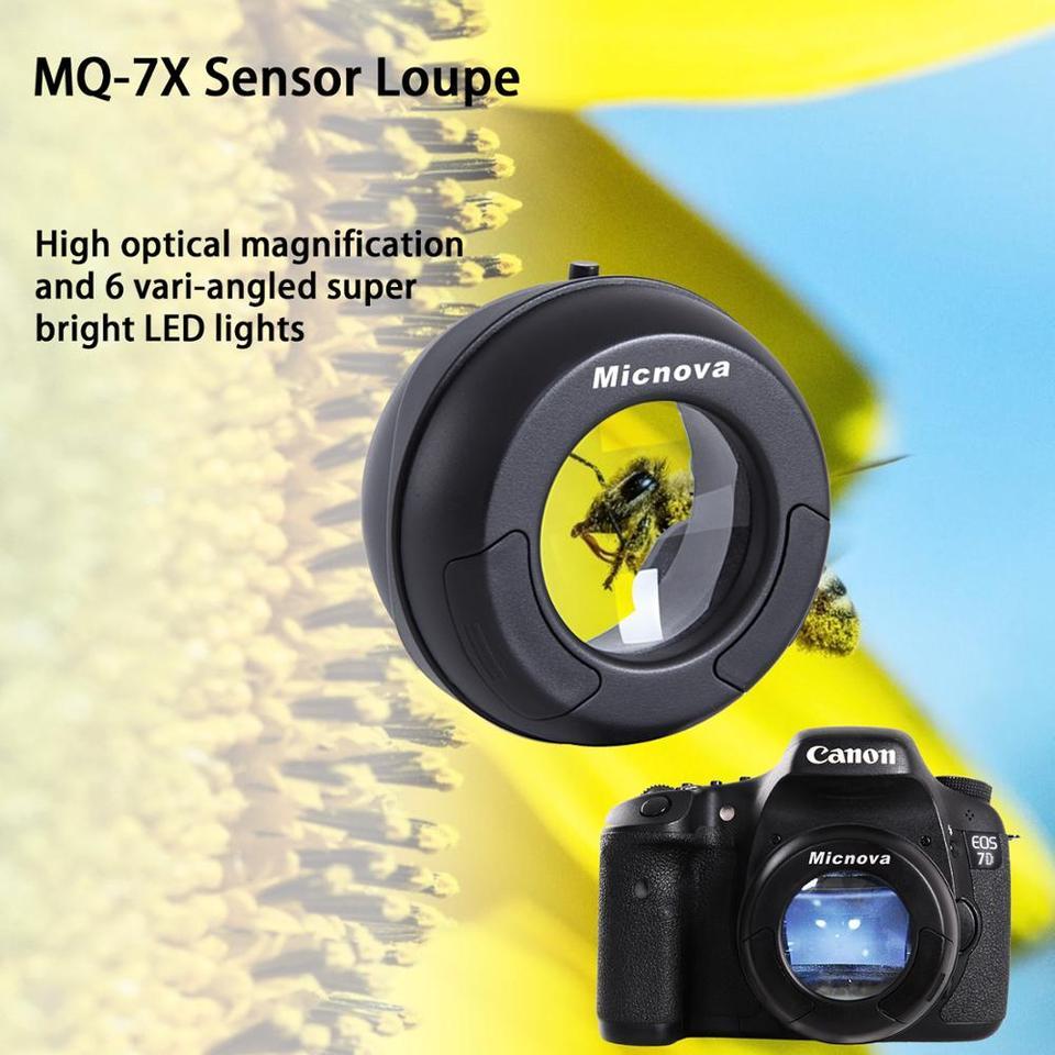 Micnova MQ-7X Sensor Lupe für Digital DSLR Kamera