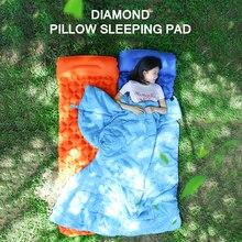 Спальный коврик для сна надувной ТПУ Кемпинг портативный воздушный диван для отдыха с подушкой спальная Подушка губка кемпинг матрас
