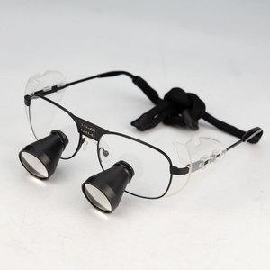 Image 3 - מותאם אישית 3X TTL משקפת שיניים זכוכית מגדלת רפואת שיניים כירורגי מגדלת זכוכית ניתוח פעולה זכוכית מגדלת 550 500 420 340mm