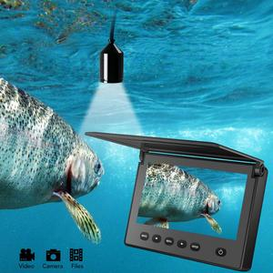 Image 5 - LUCKY Portable Underwater Fishing&Inspection Camera Night vision Camera 4.3 Inch Waterproof IP68 20M Cable for Ice/Sea