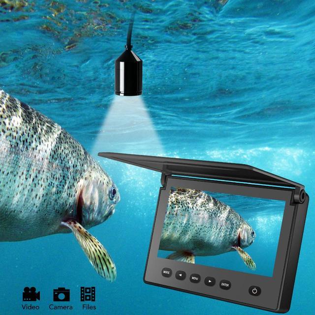 Underwater Fishing Camera Fixed on Rod