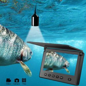 Image 5 - May Mắn Di Động Câu Cá Dưới Nước & Kiểm Tra Camera Camera Quan Sát Ban Đêm 4.3 Inch Chống Nước IP68 20M Dây Cáp Cho Băng/biển