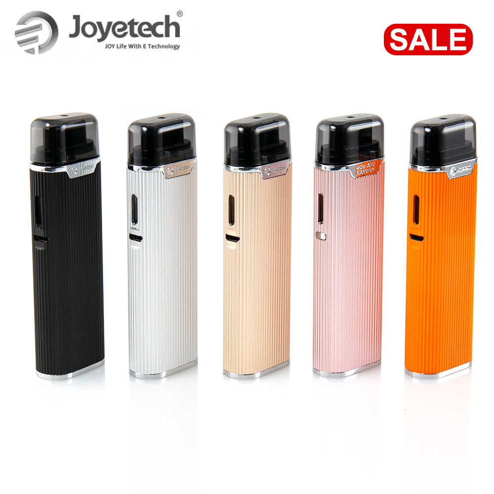 Original Joyetech eGo AIO Mansion Pod System Kit 1300mAh built in battery with 2ml pod cartridge with bf ss316 coil e-cigs vape