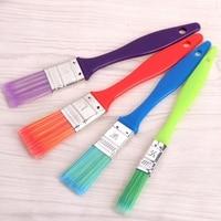 4Pcs Nylon Hair Paint Brush Set Kid Acrylic Watercolor Oil Painting Supplies