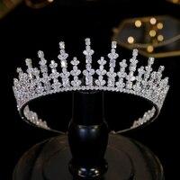 обручи для волос свадебная диадема head piece for wedding корона для девочки New 3A Zirconia Extended Crown
