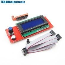 цена на 1 LCD monitor with adapter RAMPS 1.4 Reprap Mendel 3D printer controller diy kit electronic accessories tantalum capacitor